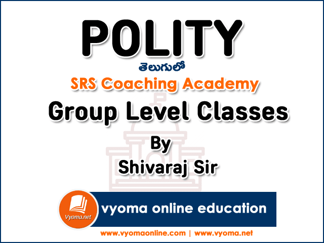 Polity Online Classes in Telugu By Shivaraj Sir | Group 2 Level | SRS Academy  15